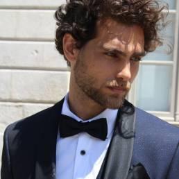 Roberto Vicentti para o Torre Fashion group com Helder Afonso