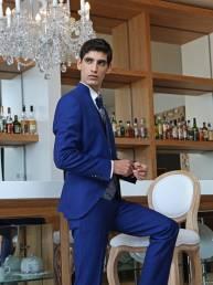 Traje de novio estilo italiano